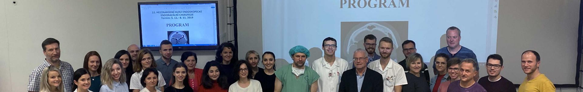 32.mezinárodní kurz endoskopické endonazální chirurgie