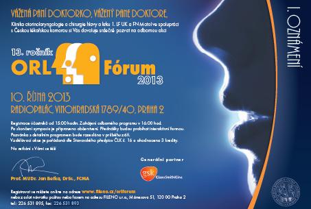 ORL fórum 2013