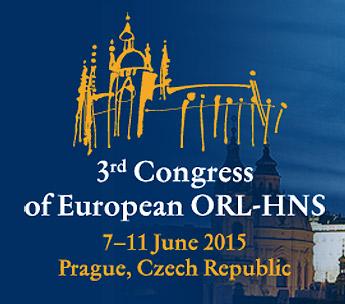 3rd Congress of European ORL-HNS, 6.česko-slovenský kongres otorinolaryngologie achirurgie hlavy akrku, 77.kongres České společnosti otorinolaryngologie achirurgie hlavy akrku
