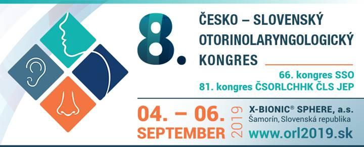 Otevřeno přihlašování instruktážních kurzů na 8.Česko-slovenský ORL kongres