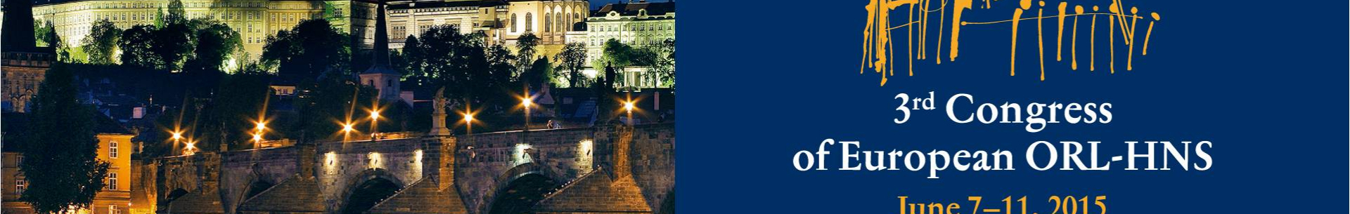 Zpráva z3.kongresu Evropské ORL-HNS společnosti
