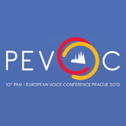 10<sup>th</sup> Pan European Voice Conference Prague 2013