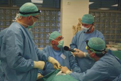Preparační kurz ORL Chirurgie nosu avedlejších nosních dutin