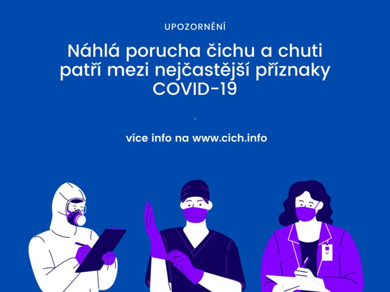 Současný pohled na poruchy čichu a chuti u nemocných sCOVID-19