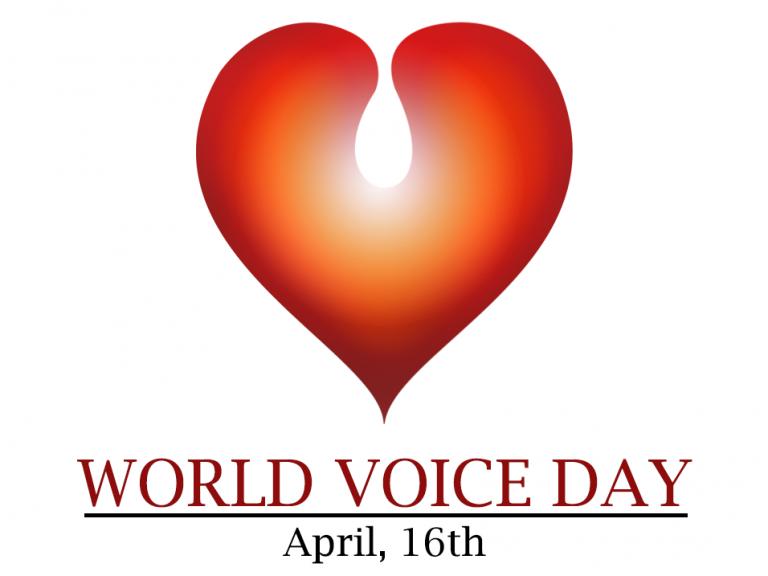 Světový den hlasu – World Voice Day  16.4.2021