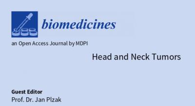 Prodloužení speciálního čísla časopisu Biomedicines stématem Head and Neck Tumors